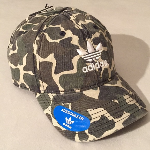 Limited Edition Adidas Originals Camo Dad Cap 557a2e9a643